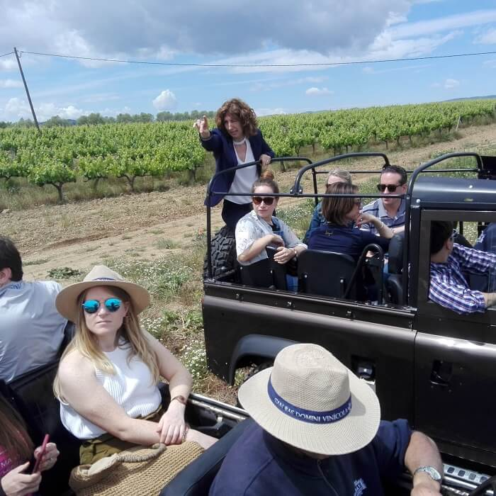 offroad winery visit